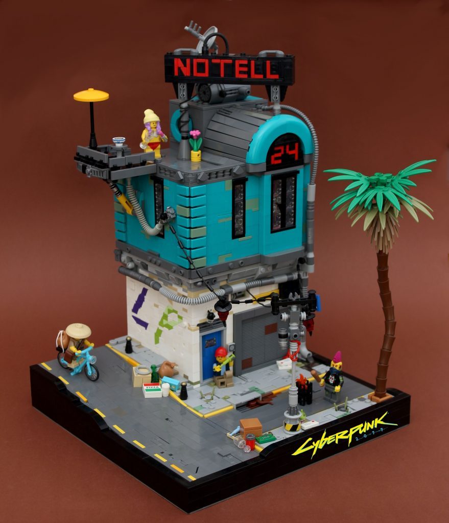 Sweet cyberpunk dreams at the No-Tell Motel | The Brothers Brick