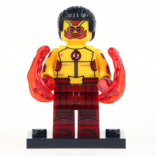 Kid Flash CW Custom Mavrel DC SuperHeroes Minifigures Toy Mini figure Fit Lego Blocks XH409