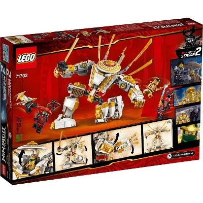 LEGO NINJAGO Legacy Golden Mech 71702 Building Kit