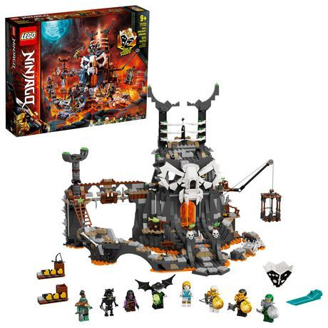 Lego Ninjago Skull Sorcerer S Dungeons 71722 Toy Building Kit (1,171 Pieces) Multi