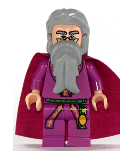 Details about Lego Albus Dumbledore 4757 Light Flesh Version Harry Potter Minifigure