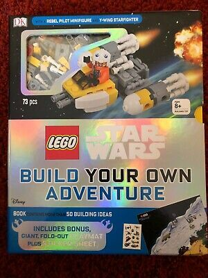Details about Special Edition Lego Star Wars Build Your Own Set W/Book, Playmat, Minifigure +