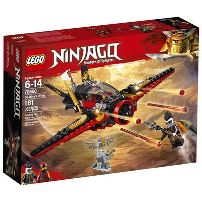 LEGO Ninjago: Destiny's Wing – 181 Pieces (70650)