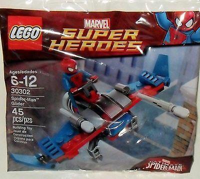 Ad – LEGO MARVEL SUPER HEROES *SPIDER-MAN GLIDER* PROMO MINIFIGURE SET 30302 *NE…