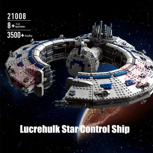 Star Wars Lucrehulk-Class Battleship (Droid Control Ship) Buildings Set Fit Lego NO BOX MK21008