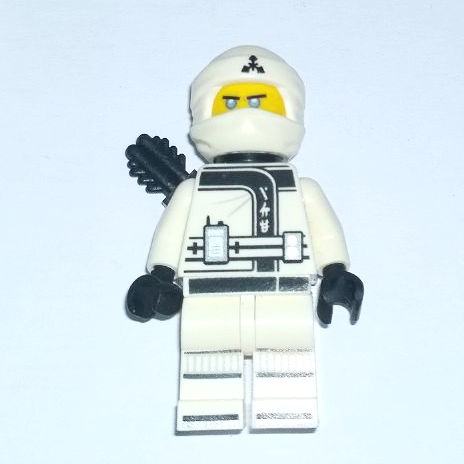 Lego Ninjago Zane – Ninja White 2017 minifigure