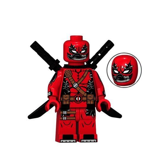 Buy 3 Get – 01 Big Bricks Custom Venompool Deadpool Marvel DC SuperHeroes Minifigures Toy Mini figure Minifigs Fit Lego Blocks XP072
