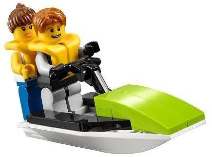 Lego City Minifigure Jet Ski Adventure 30015..