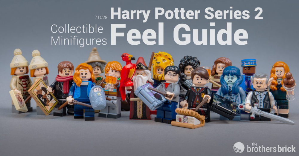 LEGO Collectible Minifigures CMF 71028 Harry Potter Series 2-5 | The Brothers Brick