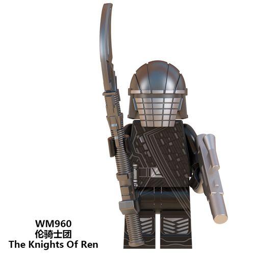 Knights of Ren Star Wars Custom Minifigs Fit Lego W960