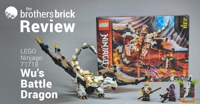 LEGO 71718 Ninjago: Wu's Battle Dragon [Review] | The Brothers Brick