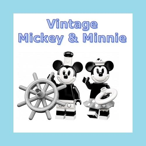 Lego Minifigures Mickey & Minnie Mouse SEALED