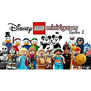 LEGO Disney Series 2 Collectible Minifigure Series – Complete Set of 18 (71024) | iDisneyplus – Amazing Disney Products