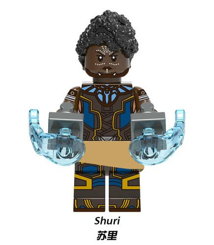 Shuri Black Panther Endgame Avengers Custom Marvel DC Super Heroes Minifigs Minifigures Fit Lego X1305