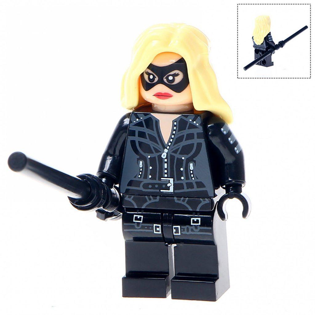 Minifigure Black Canary DC Comics Super Heroes Compatible Lego Building Block Toys