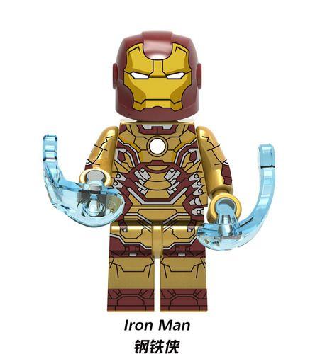 Ironman MK 42 Marvel SuperHeroes Minifigures Minifigs Fit Lego X1166