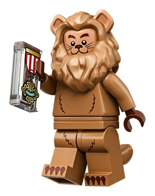 LEGO The Movie 2 Wizard of OZ Collectible Minifigure – Cowardly Lion