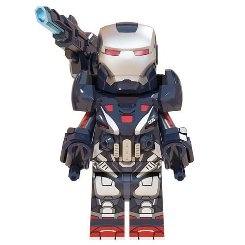 War Machine Endgame Avengers Custom Marvel Super Heroes Minifigs Minifigures Fit Lego W723