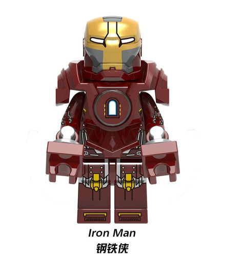 Ironman MK 35 Red Snapper Mavrel SuperHeroes Minifigures Minifigs Fit Lego X1227