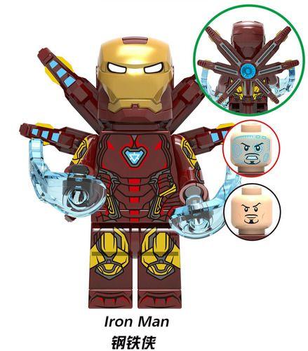 Ironman MK 85 Avengers Endgame Marvel SuperHeroes Minifigures Minifigs Fit Lego X1320