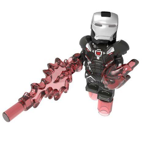 War Machine Avengers Endgame Custom Mavrel DC Super Heroes Minifigs Minifigures Fit Lego P1981