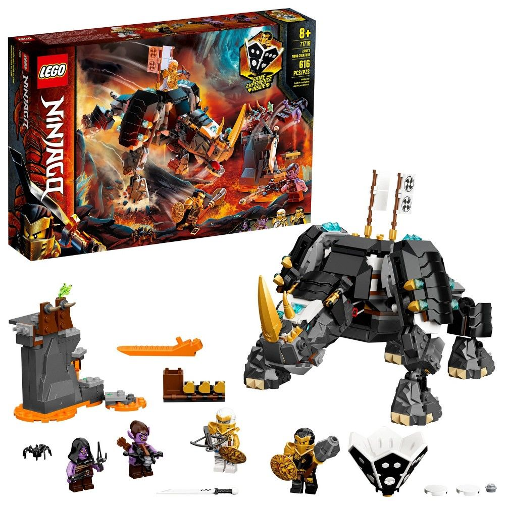 LEGO NINJAGO Zane's Mino Creature Building Set for Kids with Ninja Toys 71719