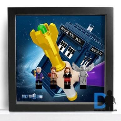 Frame for Lego® Doctor Who minifigures – 21304 set Special edition