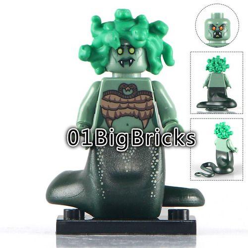 Buy 3 Get – 01 Big Bricks Custom Medusa Marvel DC SuperHeroes Minifigures Toy Mini figure Fit Lego Blocks26