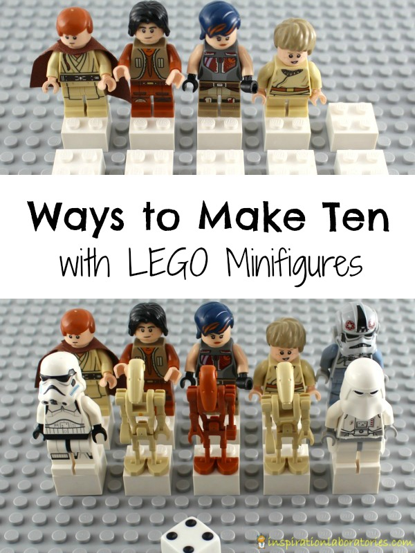 Ways to Make Ten with LEGO Minifigures | Inspiration Laboratories