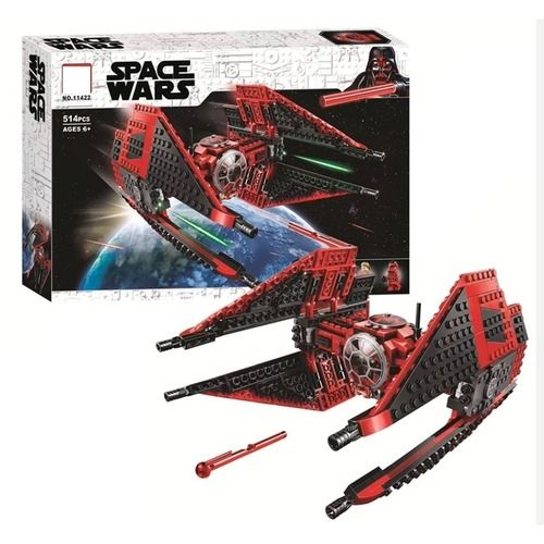 SPACE WARS Star Wars MAJOR VONREG TIE FIGHTER Buildings Set Fit Lego NO BOX LA11422