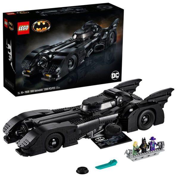 LEGO DC Comics Batman – 1989 Batmobile 76139 (LEGO Hard to Find)