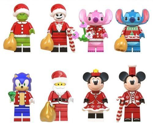 8PCS Various Christmas Themed Minifigures