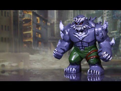 Doomsday LEGO Custom (Superman) Big Hulk Minifigure