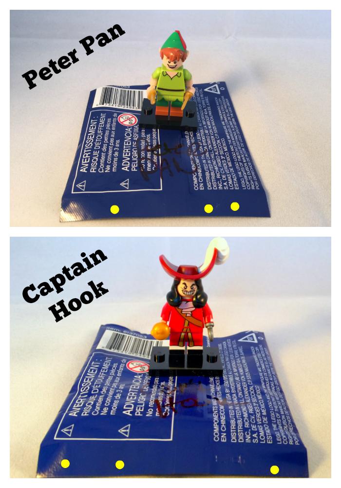 LEGO Disney Minifigure Bump Codes: Mystery bags of fun!