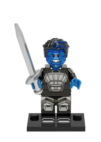 01 Big Bricks Custom Nightcrawler Mavrel DC SuperHeroes Minifigures Toy Mini figure Fit Lego Blocks XH273