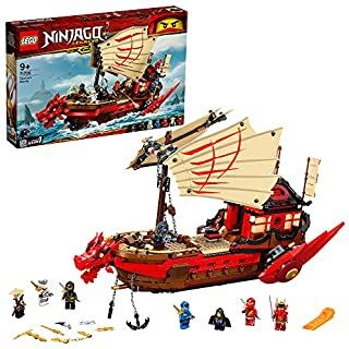 LEGO 71705 NINJAGO Legacy Destiny's Bounty Playset, Battle Ship Toy