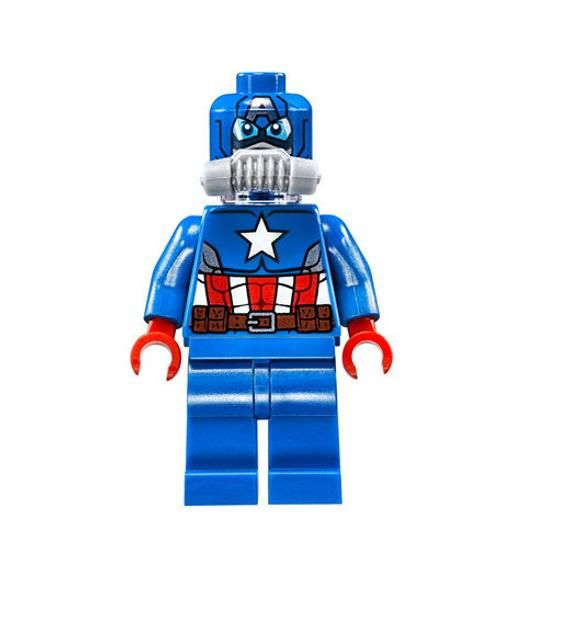 Lego MINIFIGURE Captain America, Space Captain America