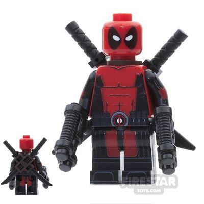 Custom Design Mini Figure – Deadpool   Minifigures.com   Custom Design Minifigures