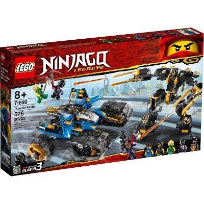 LEGO NINJAGO Legacy Thunder Raider Ninja Mech Building Kit 71699