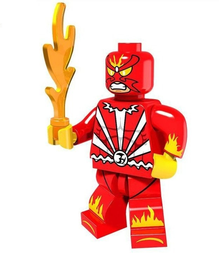 01 Big Bricks Custom Sunfire Mavrel DC SuperHeroes Minifigures Toy Mini figure Fit Lego Blocks PG293