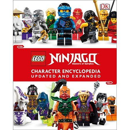Lego Ninjago Character Encyclopedia, Updated Edition (Library Edition) (Hardcover)