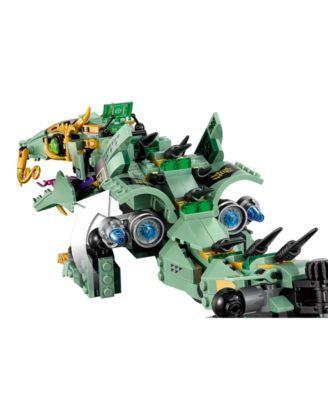 LEGO® 544-Pc. Ninjago Green Ninja Mech Dragon Set 70612 & Reviews – Macy's