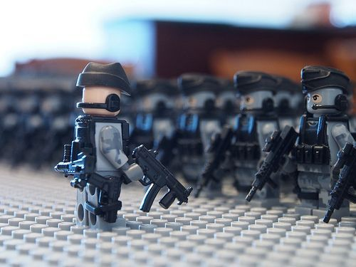 Military Parade Custom Minifigures | Custom LEGO Minifigures