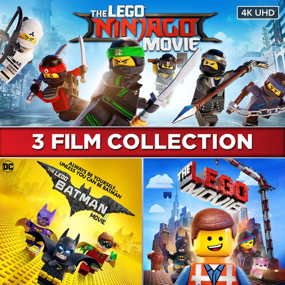 The LEGO Movie 3-Film Collection