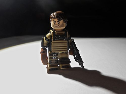 Benjamin Smith Deep Space Engineer Custom Minifigure | Custom LEGO Minifigures