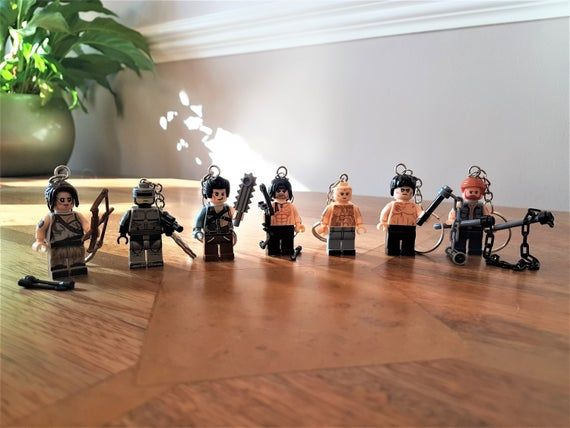 Mini Figure Keychain keyrings, Lego Film series Action Hero character figures