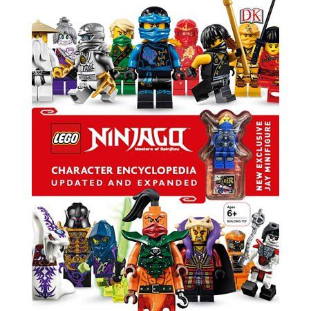 Lego Ninjago Character Encyclopedia (Updated) (Hardcover)