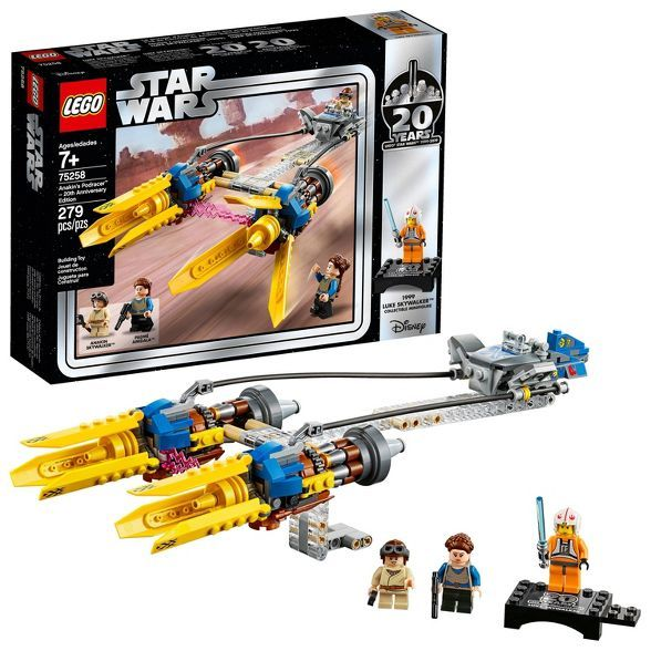 LEGO Star Wars Anakin's Podracer – 20th Anniversary Edition 75258