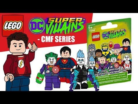 LEGO DC Super Villains CMF Series