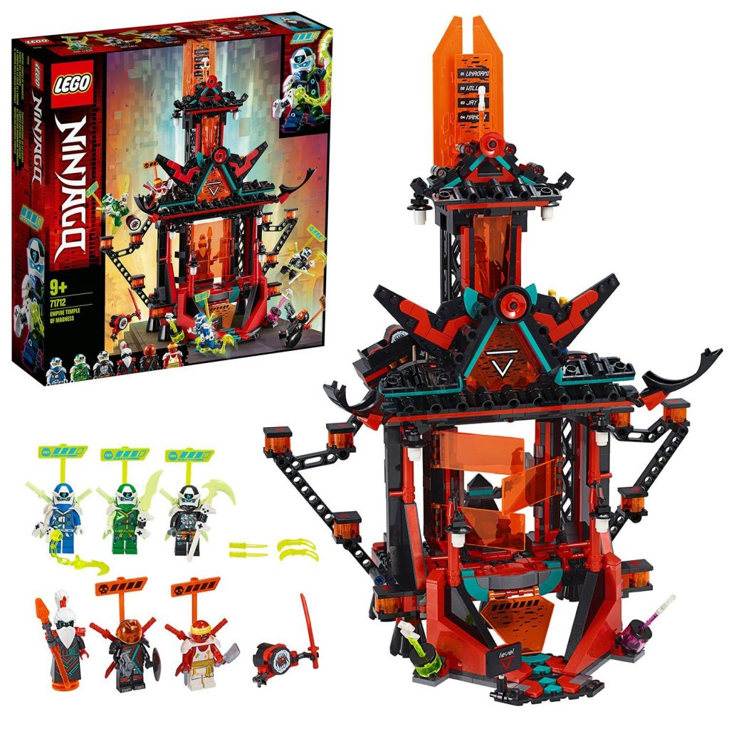 LEGO Ninjago Empire Temple of Madness Building Set – 71712